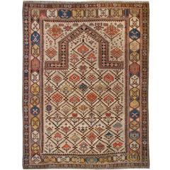 Outstanding 19th Century Shirvan Prayer Rug