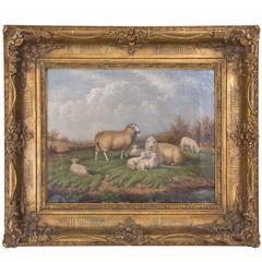 British Painter William Eddowes Turner Animal Scene