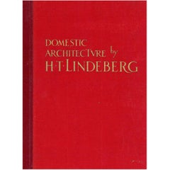 """DOMESTIC ARCHITECTURE by H.T. LINDEBERG'' Book"