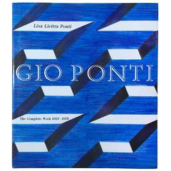 """""""Gio Ponti, The Complete Work 1923-1978 – Lisa Licitra Ponti,"""" 1990 Book"""