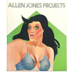 """Allen Jones Projects"", 1971 Book"