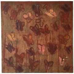 """Red Butterflies"" by Hunt Slonem"