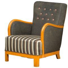 Danish Cabinetmaker Easy Chair Design, 1940-1950