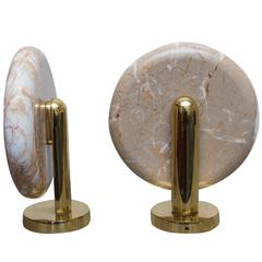 Charles Pfister for Boyd Marble Sconces