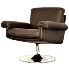 Vintage de Sede DS 31 Lounge Swivel Armchair, 1970s