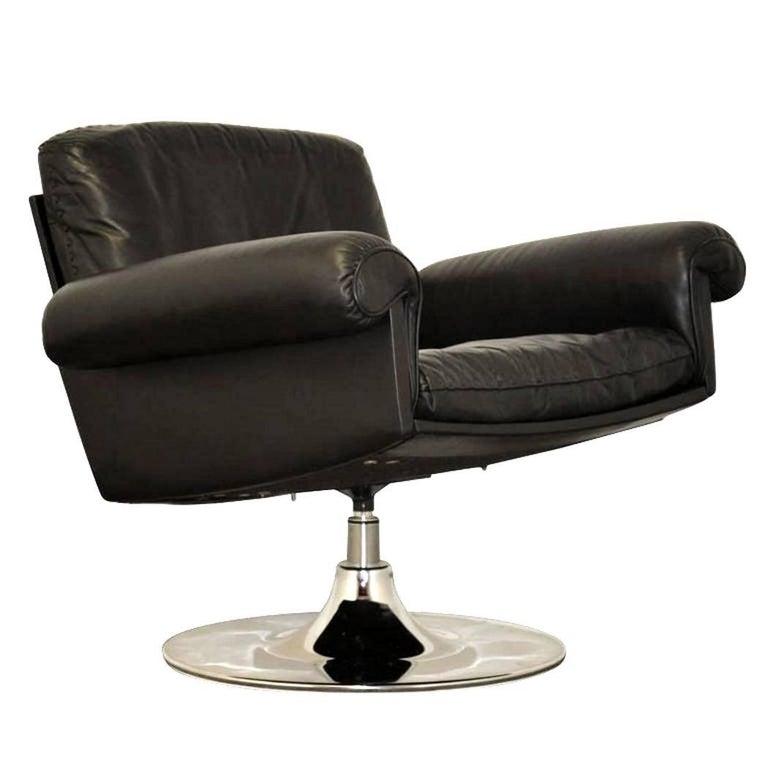 Vintage de Sede DS 31 Swivel Lounge Armchair, 1970s