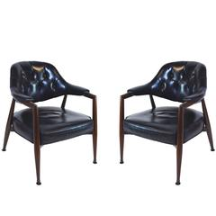 Pair of Monteverdi-Young Armchairs