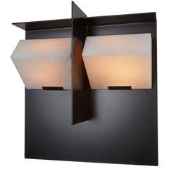 """Mask"" Wall Lamp by Pierre Chareau Model SMA 119 A"
