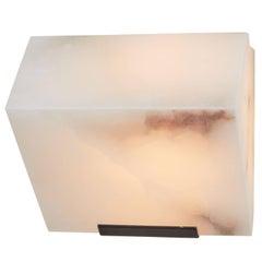 Simple Sloping Block Wall Lamp by Pierre Chareau Model SBA 108