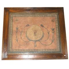Antique Lacquered Decoration