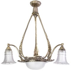 Stunning Early French Art Deco Chandelier