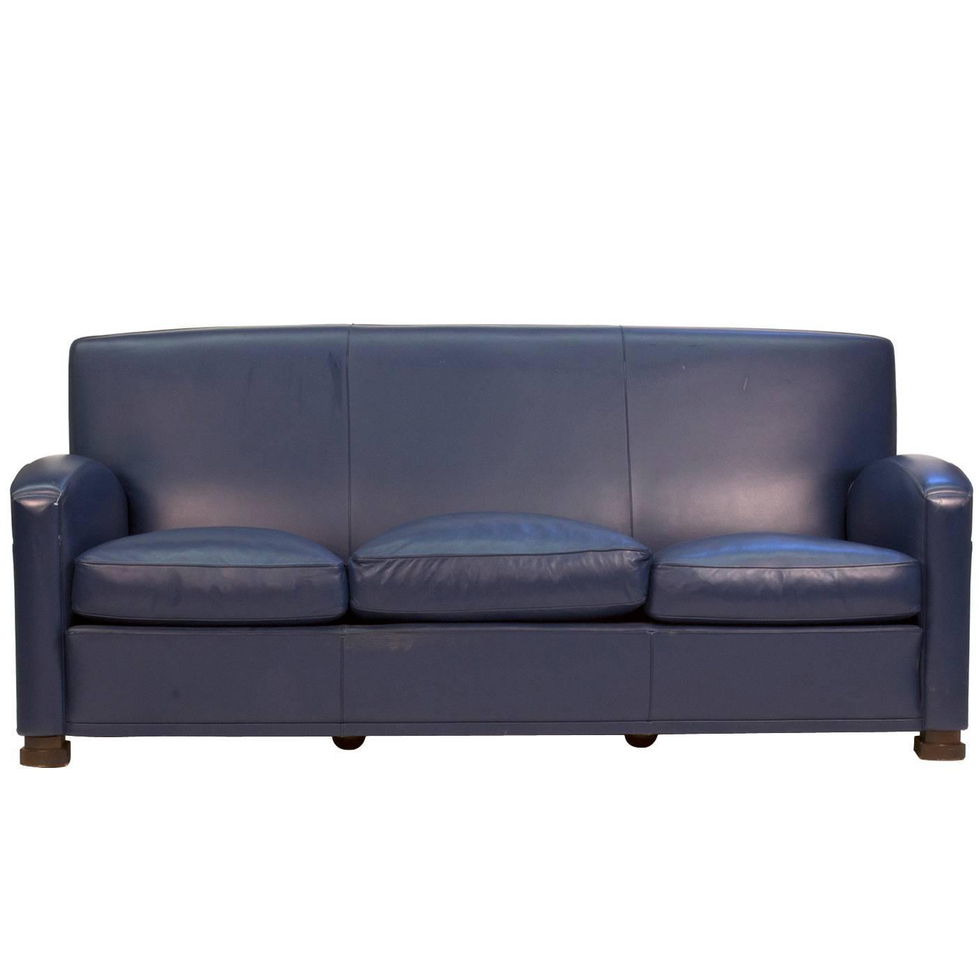 Tabarin Three Seat Sofa by Renzo Frau for Poltrona Frau Italy For