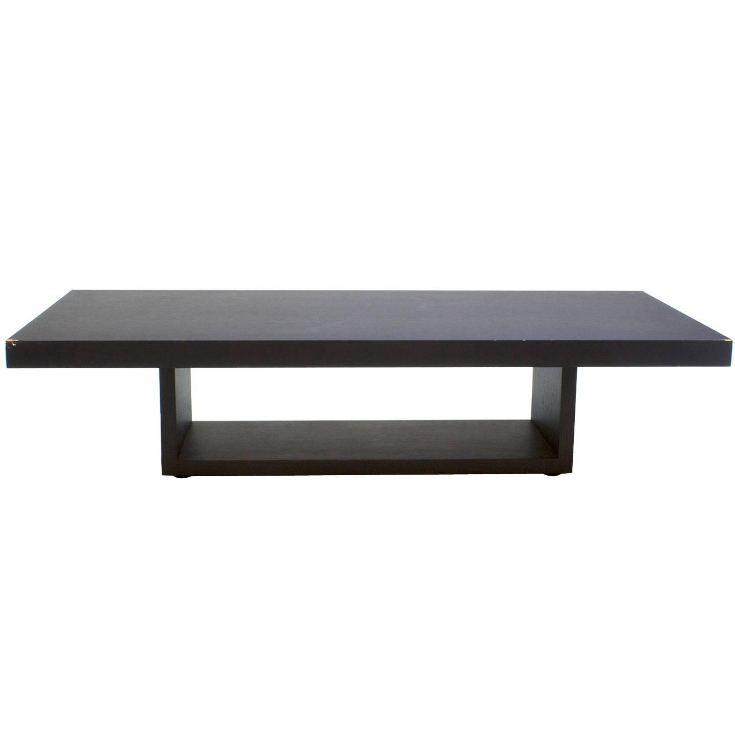 Black Oak Blox Coffee Table by Jehs and Laub for Cassina Italy