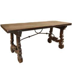 Spanish 18th Century Bench Coffee Table