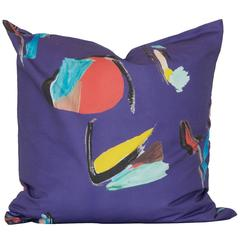 Purple Pod Square Pillow