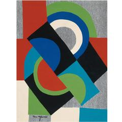"""Contre-Point"" Sonia Delaunay, circa 1968"