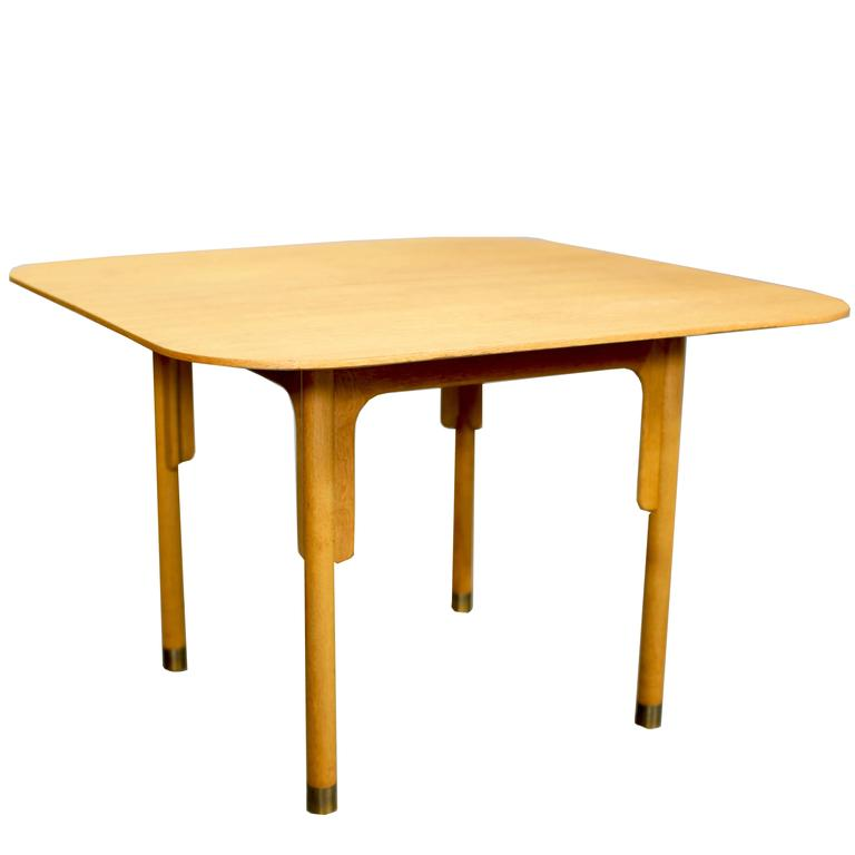 Mid-Century Kitchen Table By Bjorn Engo At 1stdibs