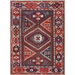 Tribal Turkish Bergama Rug