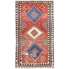 Red Tribal Persian Gabbeh Rug