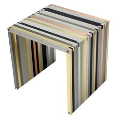 Contemporary Side Table 'Lica 20.15' by Thomas Lemut, 2016 in Metal