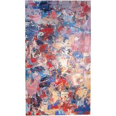 Original Large Oil Abstract Painting