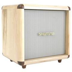 Shimna Stacks Cabinet Inspired by a Vintage Guitar Amp in Maple