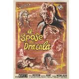 """The Brides of Dracula / Le Spose di Dracula"" Original Italian Movie Poster"