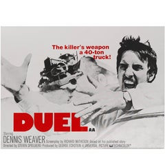 """Duel"" Original British Movie Poster"