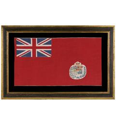 Canadian Parade Flag Version of the British Red Ensign