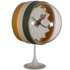 Mid-Century Modern George Nelson for Howard Miller Desk or Table Clock