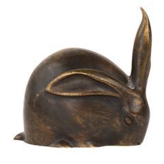 """Bronze """"Le Petit Lapin"""", the Little Rabbit Sculpture by, Edouard-Marcel Sandoz"""