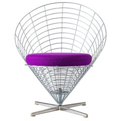 "Verner Panton ""Wire Cone"" Chair"
