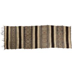 Flat-Weave Rug, Zemmour Region, Middle Atlas Mountains, Morocco