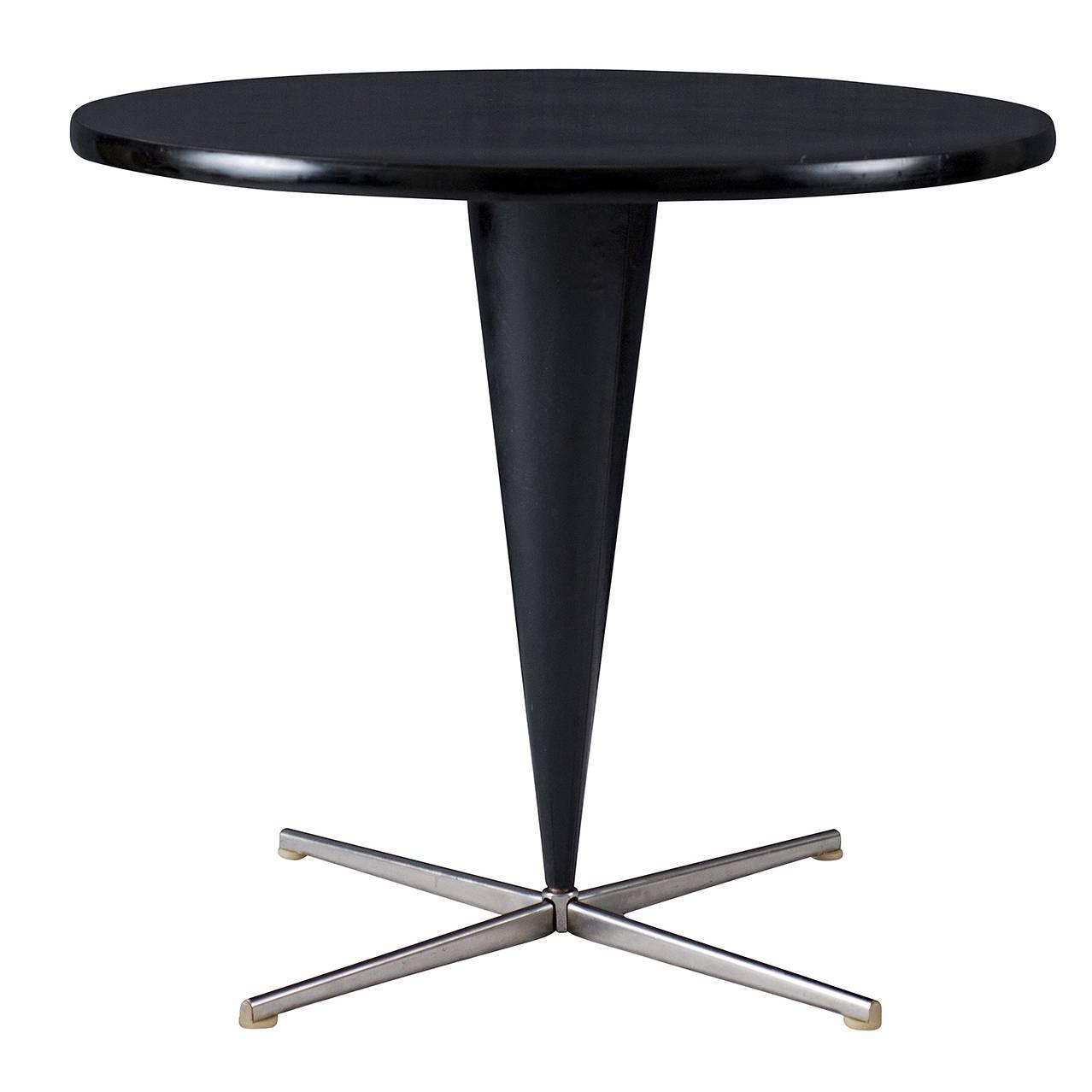 verner panton cone table for sale at 1stdibs