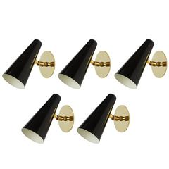 Five French Sconces in the Style of Disderot