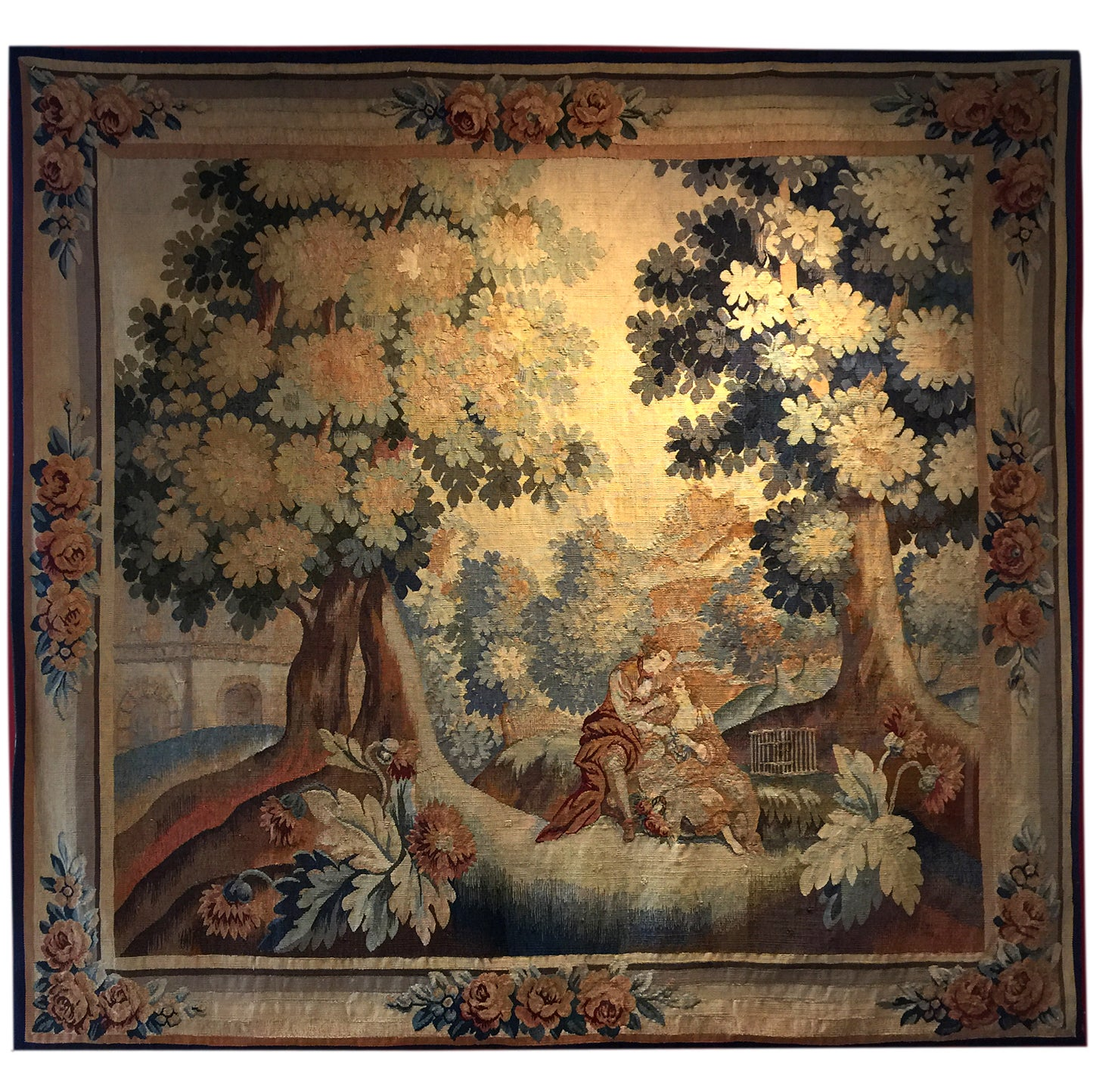 Antique Rugs, Tapestry Flemish Wall Decoration Object, Decorative rugs