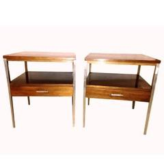 Pair of Paul McCobb for Calvin Side Tables