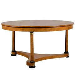 Large 19th Century Austrian Center Table