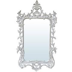 20th Century Custom Painted Georgian Style Mirror