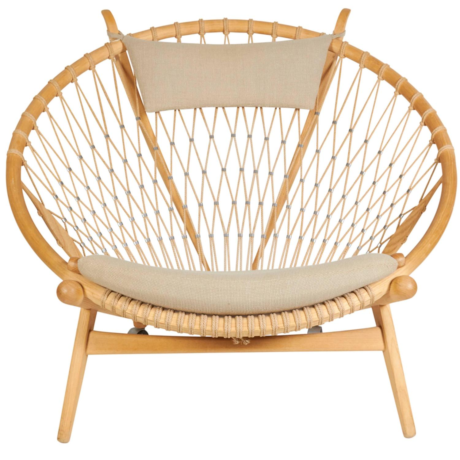 The Hoop Chair By Hans J Wegner For Pp Mobler Denmark 1980s