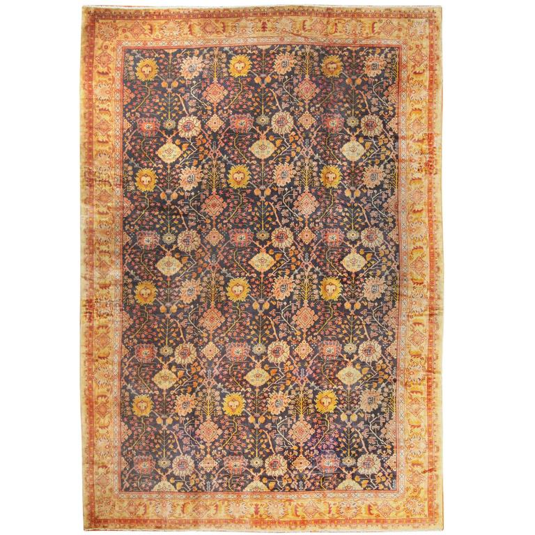 Antique Arts And Crafts Rugs: Antique Irish Arts And Crafts Rug For Sale At 1stdibs