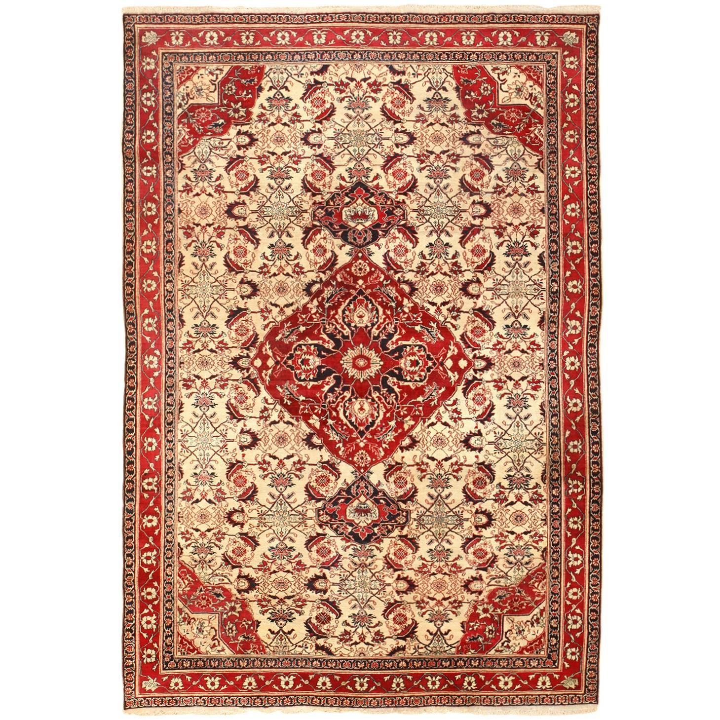 Fine Antique Indian Agra Rug For Sale At 1stdibs
