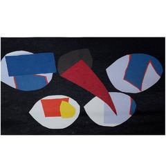 Richard Mortensen, Composition, Colored Lithograph