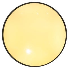 Round Applique by Stilnovo, Made in Italy in 1960, plexiglass