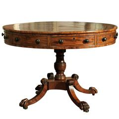 19th Century Beautiful Regency Mahogany Rent Table