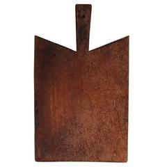 19th Century Thick Walnut Cutting Board