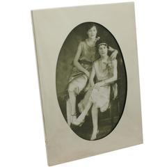 Antique, Sterling Silver Photograph Frame