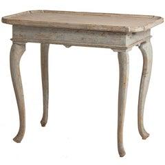 Swedish Rococo Period Tray Table, circa 1770