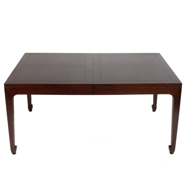 Asian Influenced Dining Table by Michael Taylor for Baker  : taylortable1orgl from www.1stdibs.com size 768 x 768 jpeg 17kB