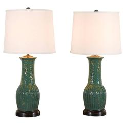Pair of Charlie West Lamps